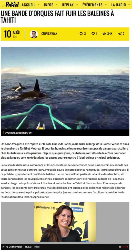 Orques à Tahiti