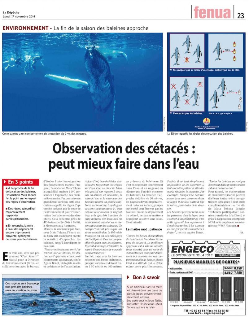 La Dépêche de Tahiti 17 11 14-023